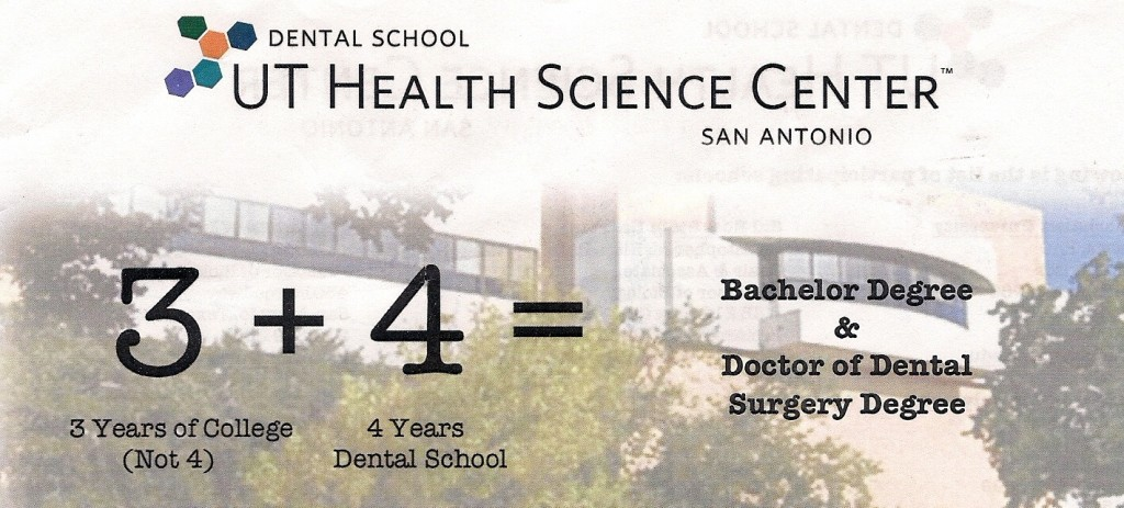 Early Acceptance Program for Dental School